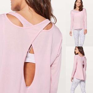 Lululemon | Back into it long sleeve size 8